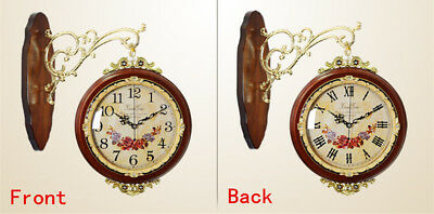 Antique Wall Clock Double Sided Clock Big Clock Watch Clock for New House