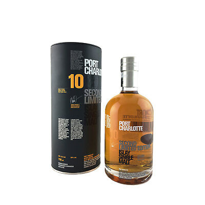 Bruichladdich PC 10 Year Old Second Limited Edition Single Malt Whisky 700ml 50%