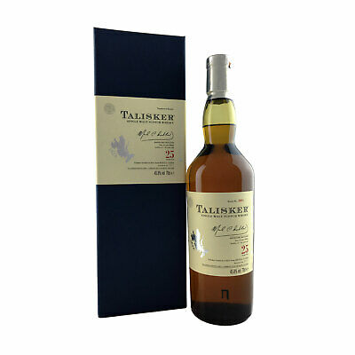 Talisker 25 Year old 2011 Release Single Malt Scotch Whisky 700ml 45.8%