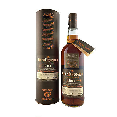 Glendronach 12 Year Old 2004 Pedro Ximenez Cask 5527 Single Malt 700ml 58.6%
