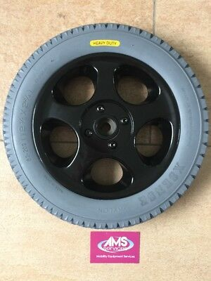 Sunrise Medical Quickie Tango, Rumba Electric Wheelchair Rear Wheel Solid Tyre