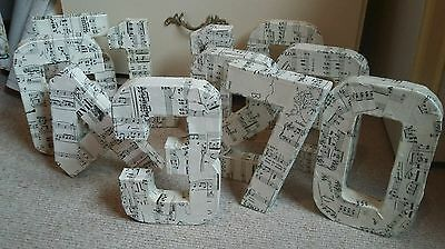 3d music notes design wedding table numbers jobs lot