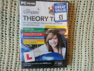 The Complete Theory Test for Learner Drivers (PC; Windows, 2016) B32