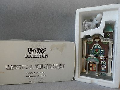 """Dept 56 Christmas in the City """"Arts Academy""""  #5543-3"""