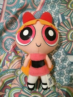 powerpuff girls blossom soft toy plush collectable vintage