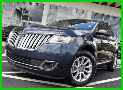 2013 Lincoln MKX Base Sport Utility 4-Door 2013 Used 3.7L V6 24V Automatic FWD SUV Premium