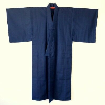 Japanese Men's Vintage KImo Dark Blue Wool L60