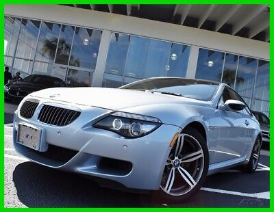 2008 BMW M6 Base Coupe 2-Door 2008 Used 5L V10 40V Manual RWD Coupe Premium