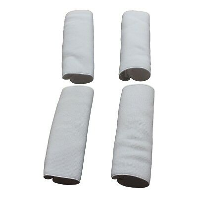 4x accordion strap buckle protector NEW WHITE elastic avoid scratching your box