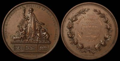 AUSTRALIA New South Wales: 1927 Royal Agricultural Society Prize medal