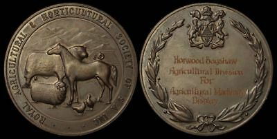 AUSTRALIA South Australia Royal Agricultural & Horticultural Society Prize medal