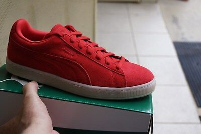 best sneakers 21bb4 cd7d7 PUMA SUEDE CLASSIC COLORED Shoes NEW Red - Red 9, 9.5, 10