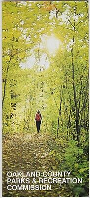 1970's Oakland County Parks & Recreation Brochure