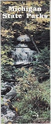 1970's Michigan State Parks Promotional Brochure
