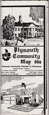 1974  Plymouth Community Map & Business Guide