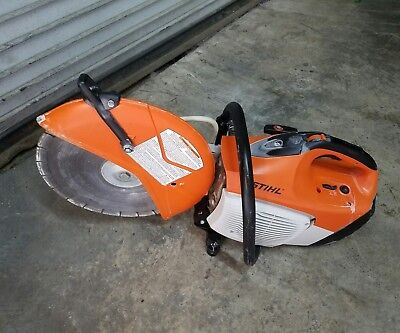 "Stihl Ts420 Gasoline Concrete Saw W/ 14""  Diamond Disk"