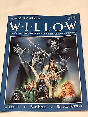 Marvel Graphic Novel Willow VF/NM George Lucas Movie