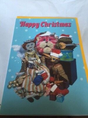 BN Happy Christmas Bagpuss with all his friends Card
