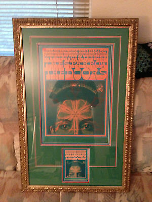Family Dog # 50 , First Edition Doors Poster With Card