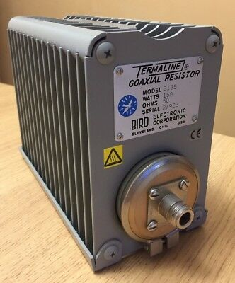 Bird Termaline Coaxial Resistor, Dummy load, Termination, Model 8135, 150W, VGC