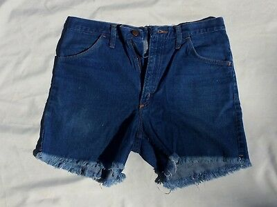 WRANGLER Vintage Wrapid Transit Collection Cut Off Jean Shorts 32 USA Made NWT