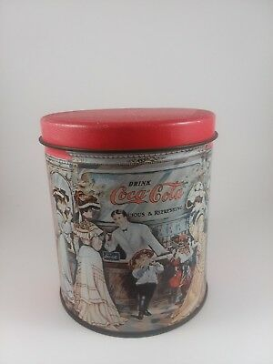 Vintage Coca-Cola Tin Old Timey Soda Bar
