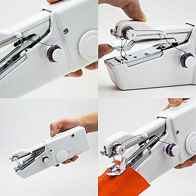 Sewing Machine Portable Mini Hand Held Stitch Cordless Home Travel Handheld Ligh
