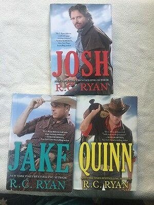 Wyoming Sky Lot Of 3 Books Rc Ryan Western Romance Hc