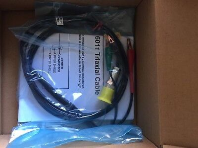 Keithley 6011 Test Cable Assembly - 2 Slot Triax Cable