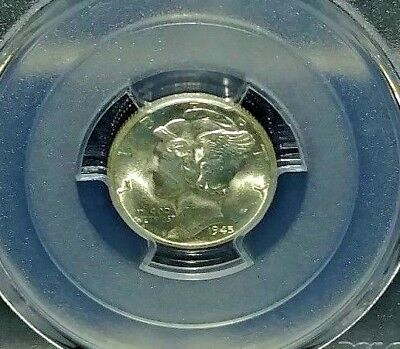 1945-D PCGS MS65 Mercury Dime
