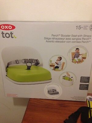 oxo booster seat GREY--BRAND NEW--