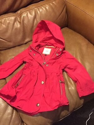 Girls Ted Baker Raincoat 12-18 Months