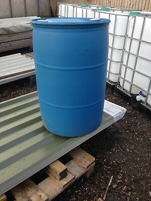 210 Litre Water Barrels