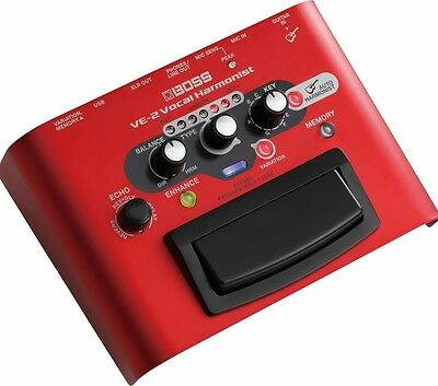 Boss VE-2 Vocal Harmonist and Effects Processor With USB
