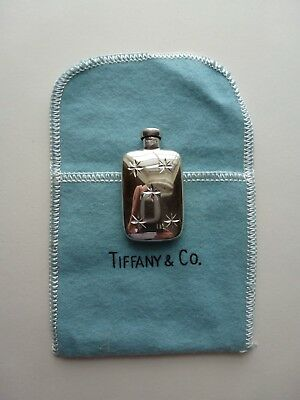 Vintage Tiffany & Co. Sterling Silver Miniature Perfume Bottle 925 Refillable