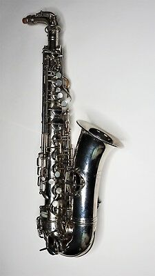 "Conn New Wonder Series II ""Chu Berry"" Nickel Plated Alto Saxophone #M161903"