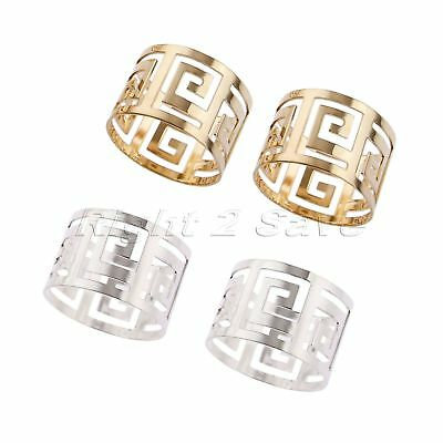 6 x Napkin Rings Party Table Dinner Banquet Decoration Serviette Buckle Holder