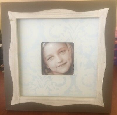 New Baby Blue & Brown Picture Frame~ baby~ boy