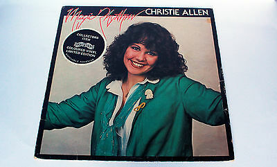 Christie Allen - Magic Rhythm - Blue Vinyl - Rare - Used - Excellent Condition