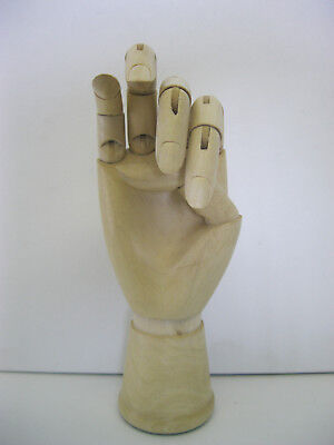 Artist Wooden Female Right Hand Art Mannequin for drawing and more!