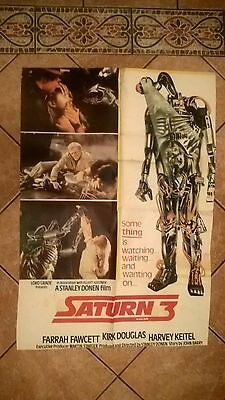 SATURN  3   -  Original ASIAN CINEMA MOVIE POSTER .