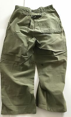 VINTAGE FRENCH WORKWEAR PANT (1950's)