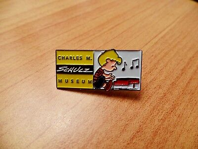 Charles M. Schulz Museum Schroeder at Piano Peanuts Membership Pin