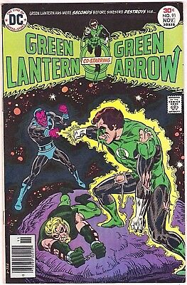 Green Lantern#91 Vf 1976 Dc Bronze Age Comics