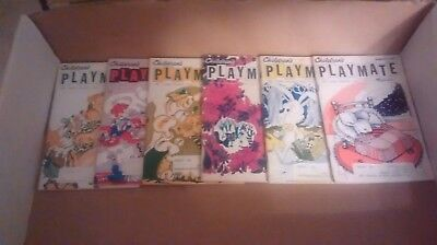 Children's Playmate Magazine, Lot of 6 from 1970