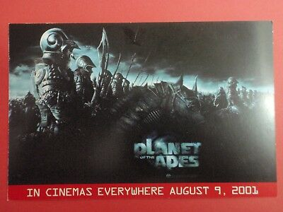 Postcard : PLANET OF THE APES - Tim Burton : Cinema Promo
