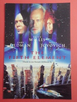 Postcard : The FIFTH ELEMENT : Cinema Promo