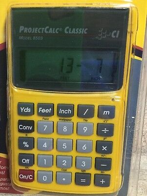 Calculated Industries 8503 ProjectCalc Classic Home Improvement Calculator NIB