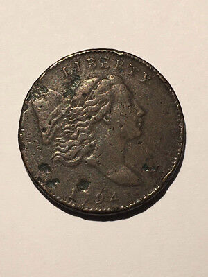 1794 C-1a Half Cent - Liberty Cap Coin