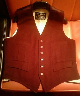 west of england wool waistcoat strachan co. Ltd vintage